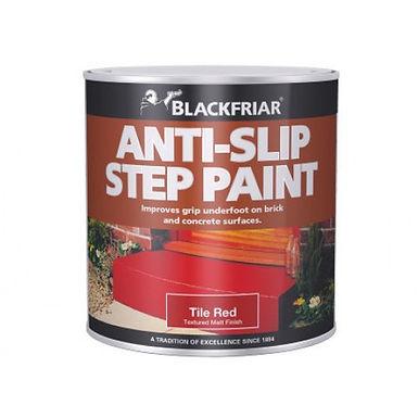 Blackfriar Slip Resistant Step Paint Tile Red