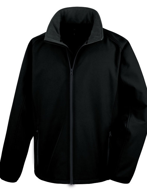 Soft Shell Jacket - Extra Large Black