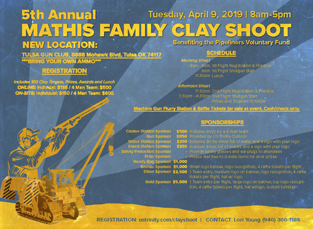 5th Annual Mathis Family Clay Shoot