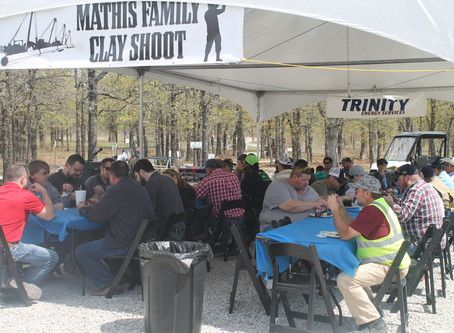 US Trinity Energy Services hosts 3rd Annual Mathis Family Memorial Clay Shoot in support of the Loca