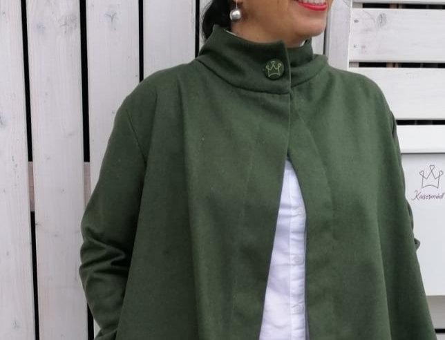 Lodenjacke Schlammgrün