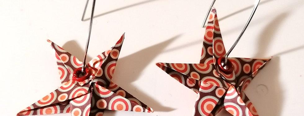 Origami Ohrgehänge
