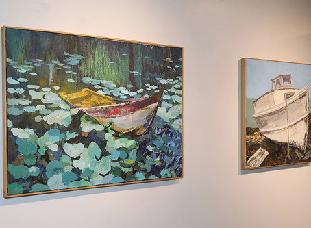 Seen@ Just Talking-An Exhibit featuring the art of Dane Tilghman at Art for the Soul Gallery