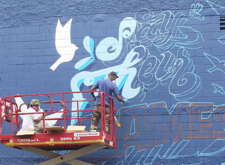 MLK Jr. Community Center mural in Springfield honors black lives ended by police brutality