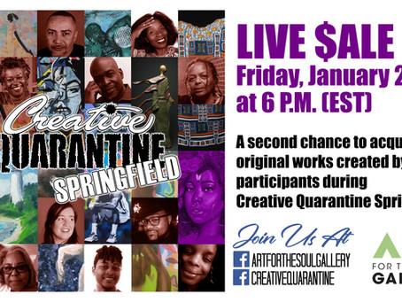 Creative Quarantine: Live Sale #2