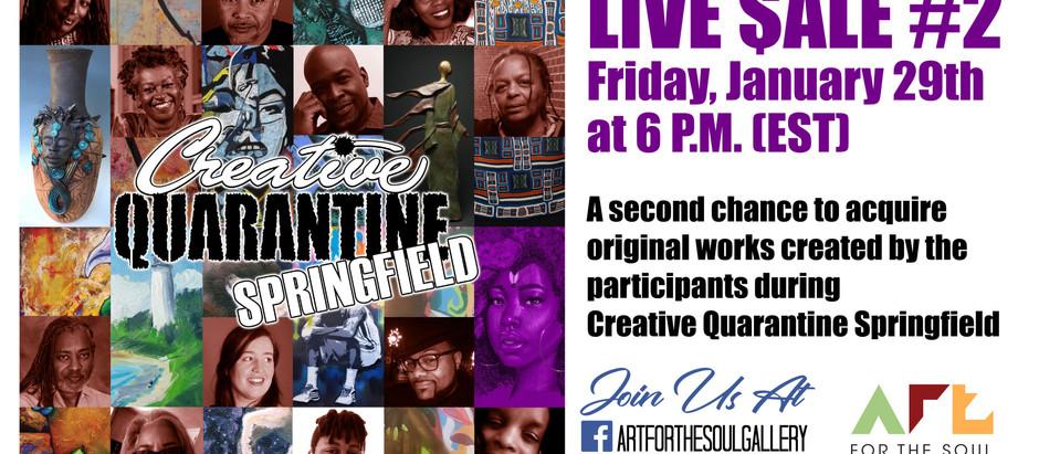 Creative Quarantine: Live Sale #2