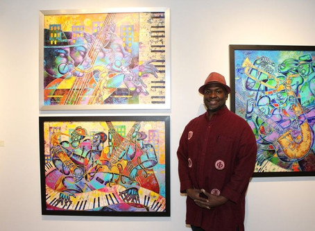 Exhibición de arte 'Stronger than Pride' muestra la esencia de la raza Afro-Americana