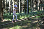 Seilzeit Kindergeburtstag im Wald