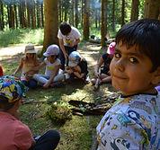 Klassenwaldtag Waldschule