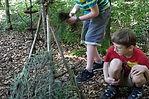 kleine grosse Künstler Kindergeburtstag im Wald