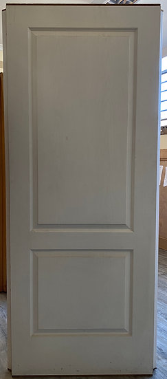 2 Panel semi-solid Door