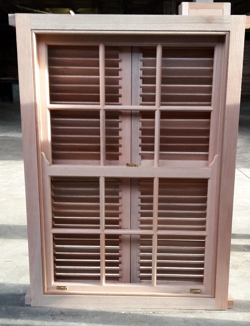 sliding sash windows with shutters (insi