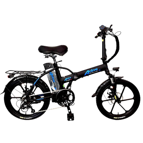 Active Bicycle White 48V 13.8AM Magnesium