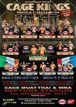 T Bob Tinica Castlegar Muay Thai Galway