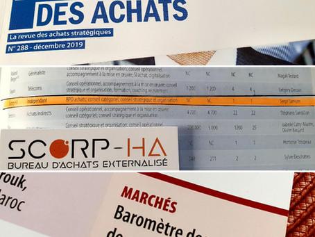 SCORP-HA figure dans le magazine La Lettre des Achats