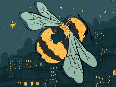 Ilustração   Abelhas (2019)