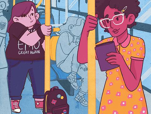 Capa de Livro | A Garota do Banco de Trás (2020)