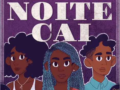 Capa de Livro   A Noite Cai (2020)