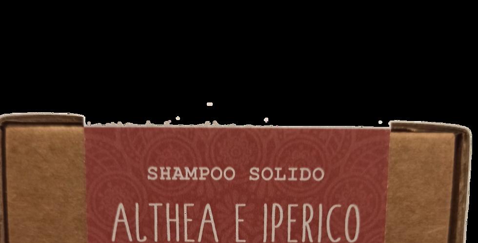 Shampoo Solido 100g Althea e Iperico