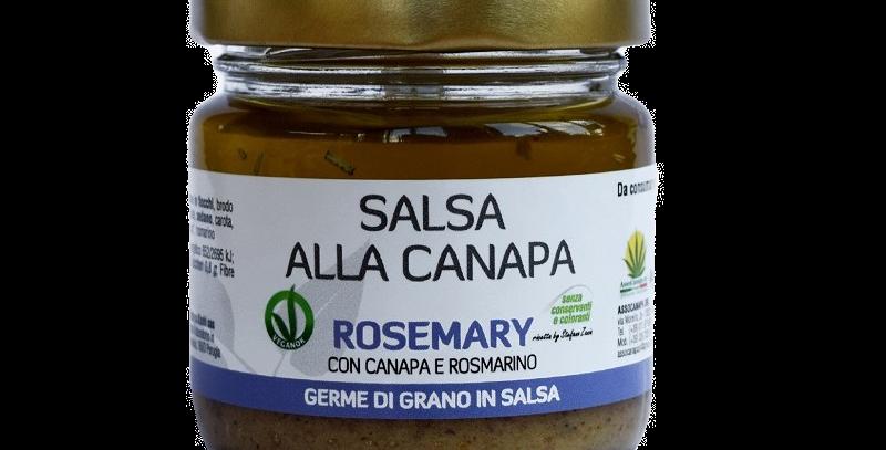Salsa al Rosmarino e semi di Canapa
