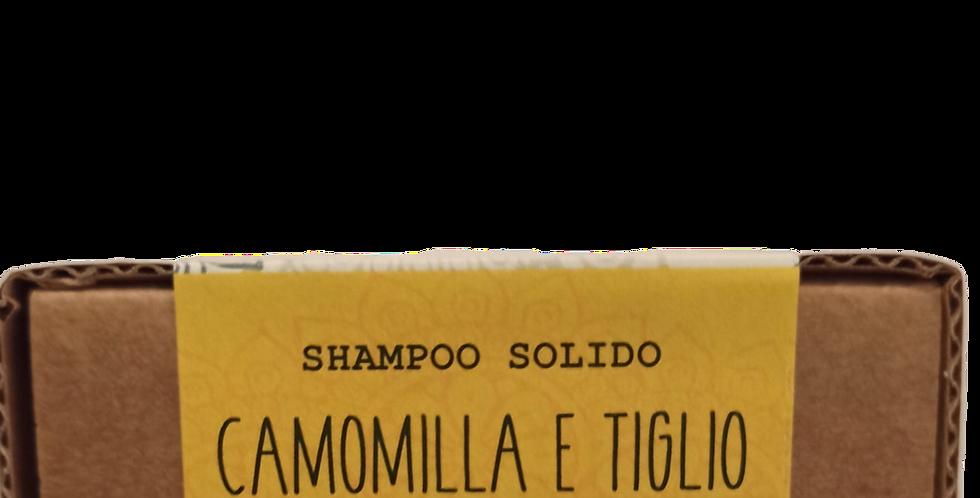 Shampoo Solido 100g Camomilla e Tiglio