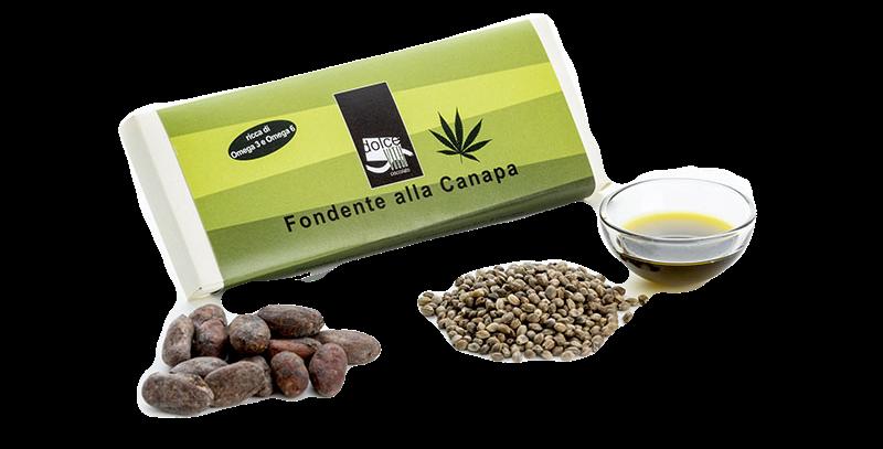 Cioccolato Fondente e Canapa