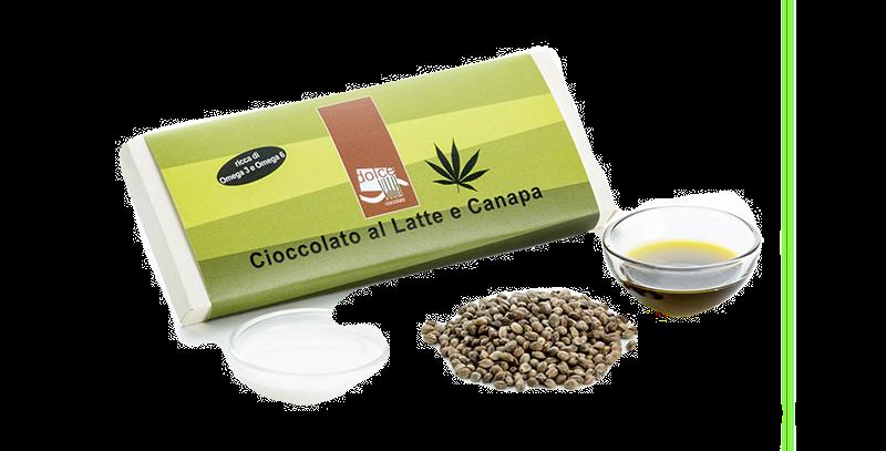 Cioccolato al Latte e Canapa