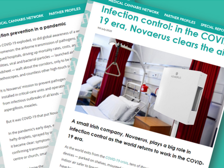 Health Europa: Infection control in the COVID-19 era, Novaerus clears the air