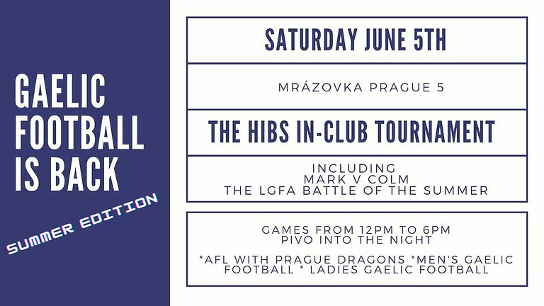 It's GAME day for Gaelic Football