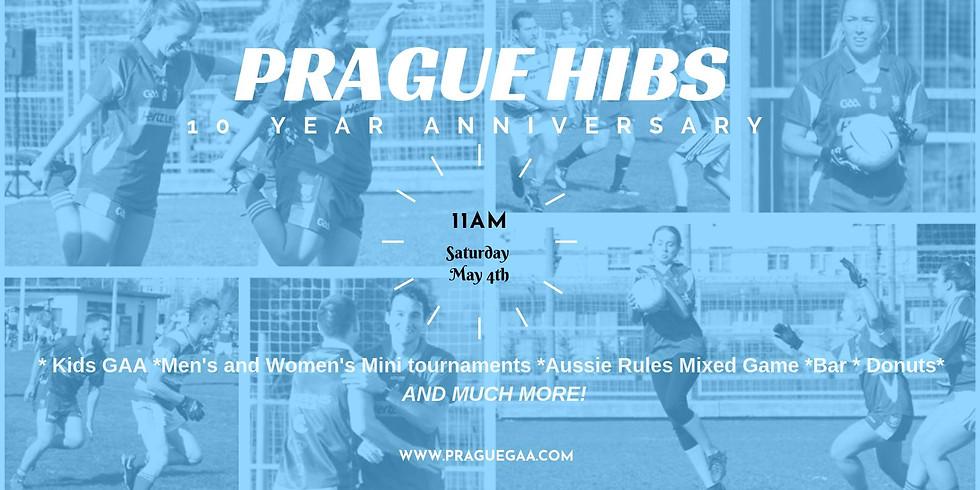 Prague Hibs GAA 10th Anniversary