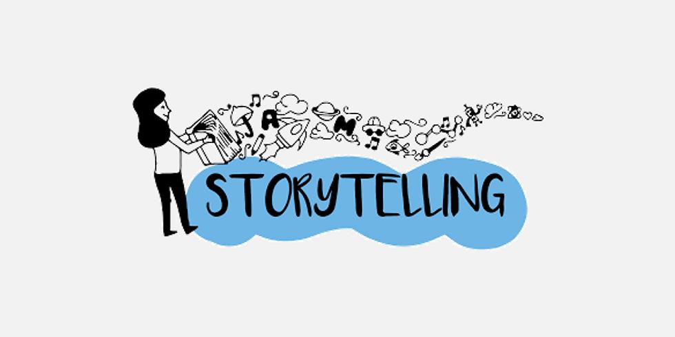 Storytelling at Korunní Library