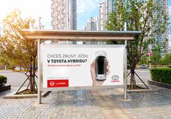 upTAXI Toyota billboard