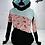 Thumbnail: Hoodies Femme plume turquoise