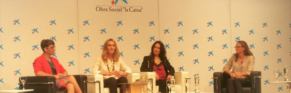 Congreso de la Mujer AEMME. Fundación La Caixa Madrid