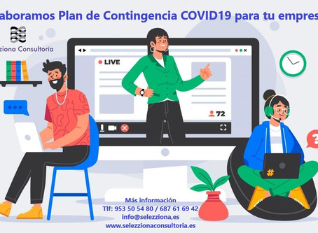 Porque debes implantar un Plan de Contingencia COVID-19 en tu empresa.