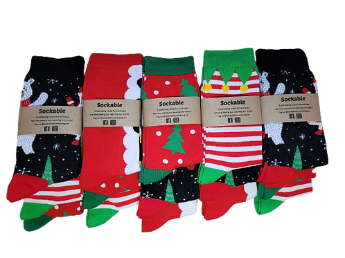 Christmas in July Fundraising Pack - Large Men 6-11 & Women 9-12