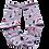 Thumbnail: Pink Pelican Womens Sports Sock Ribbed Top *Ships free ex Perth*