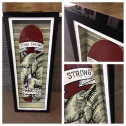 Limited Ed. Skateboard Shadowbox
