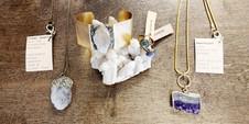Jewellery from Stone + Bone