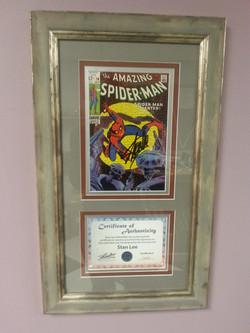Comic Book & Certificate