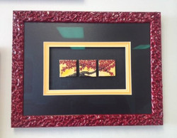 Miniature Canvases Framed
