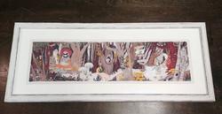 Rustic Woodland Print