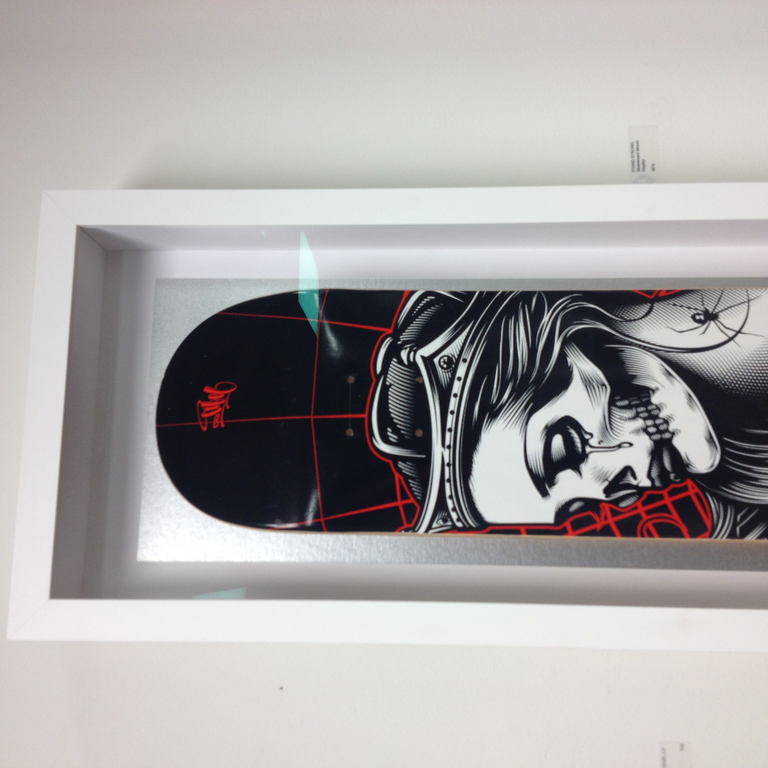Hand Painted Skateboard Box