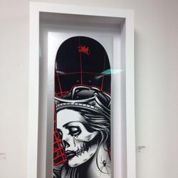 Hand Painted Skateboard Box