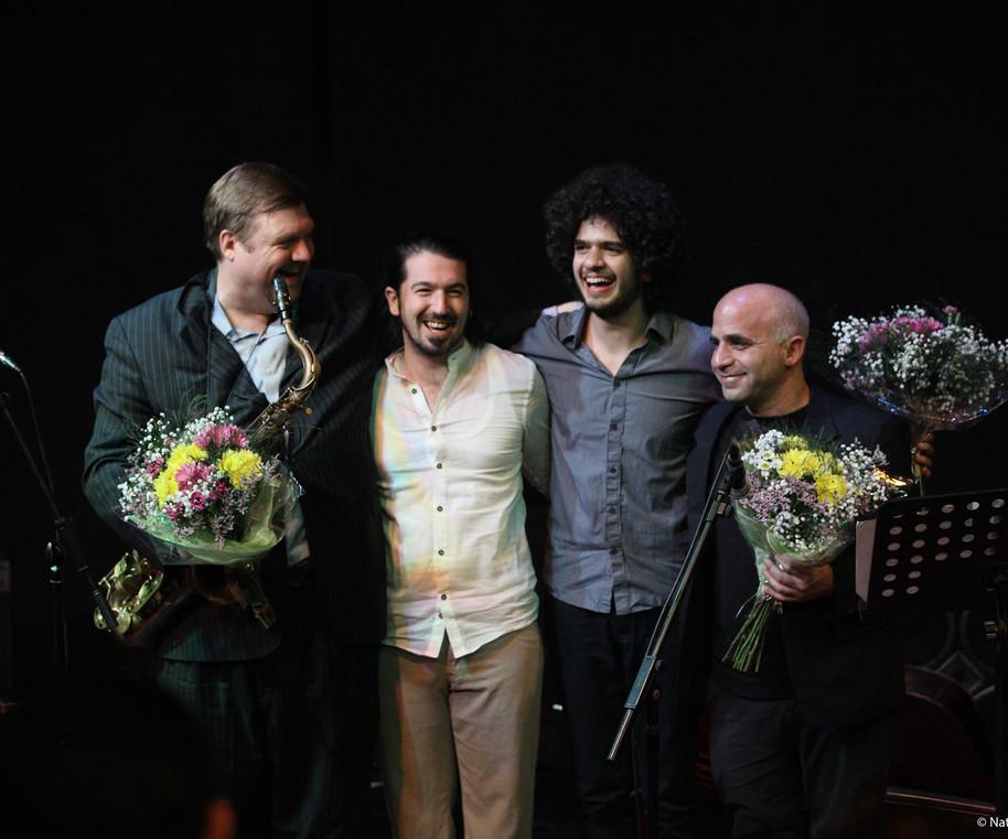 with Joel Frahm, Gilad Abro and Amir Bresler