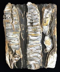 Birch Bark Plaque