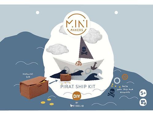 kit bateau de pirate FABELAB