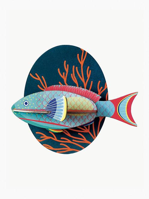 décoration murale parrotfish STUDIO ROOF