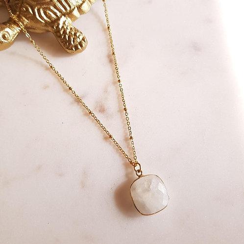 collier justine pierre de lune GINANDGER