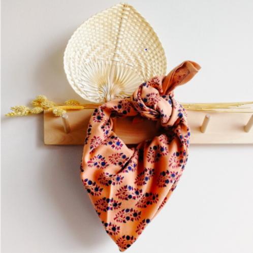 foulard primrose macaron BONHEUR DU JOUR